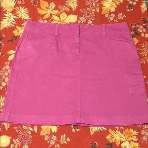 Pink Vineyard Vines Skirt